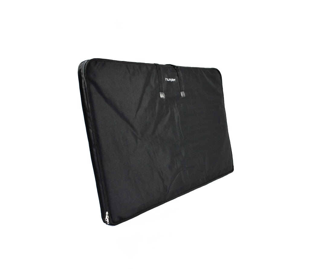 Padded bag for table-top and front plate